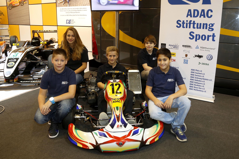 Fünf Kart-Talent in der ADAC Stiftung Sport