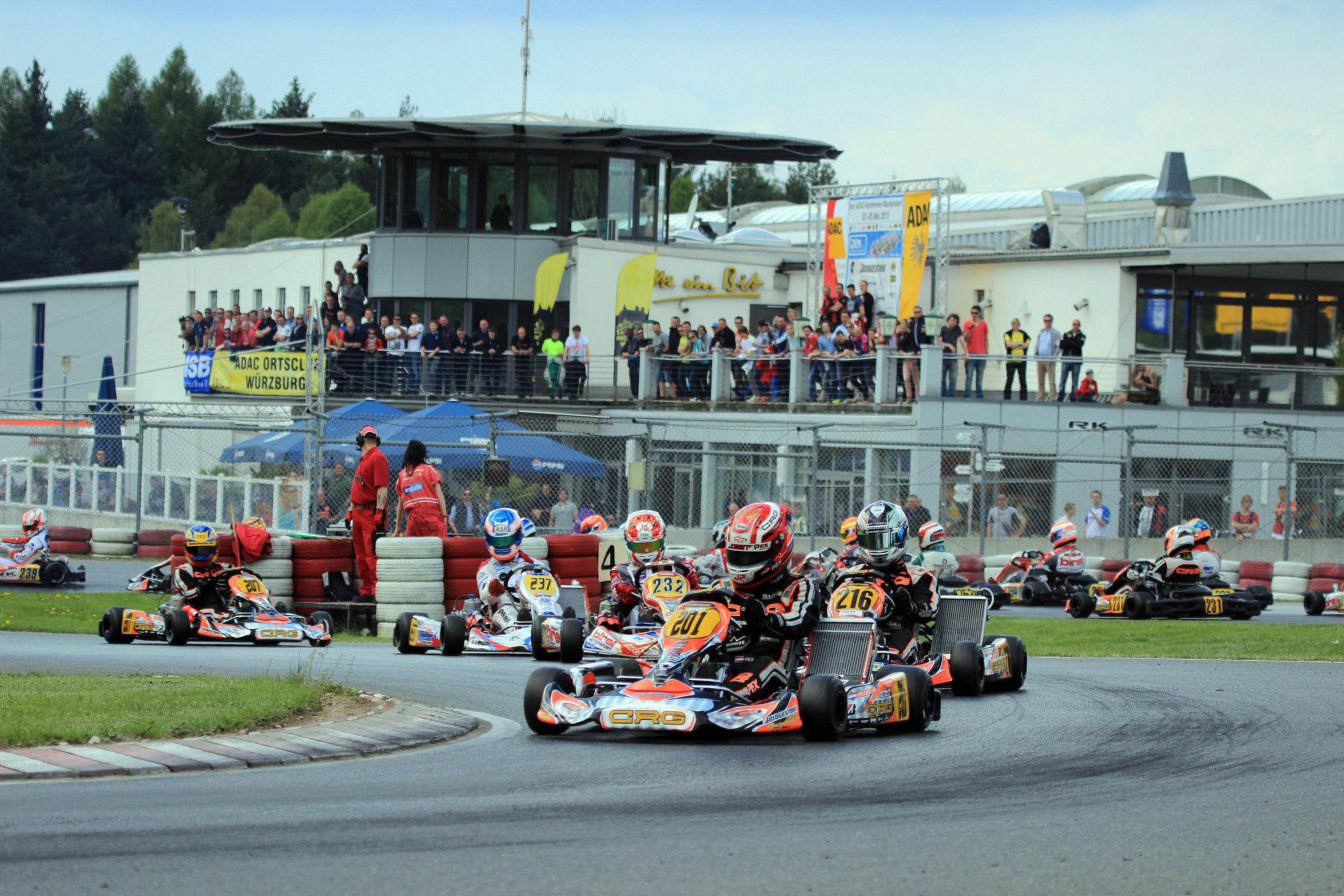 Drei Doppelsieger in Wackersdorf