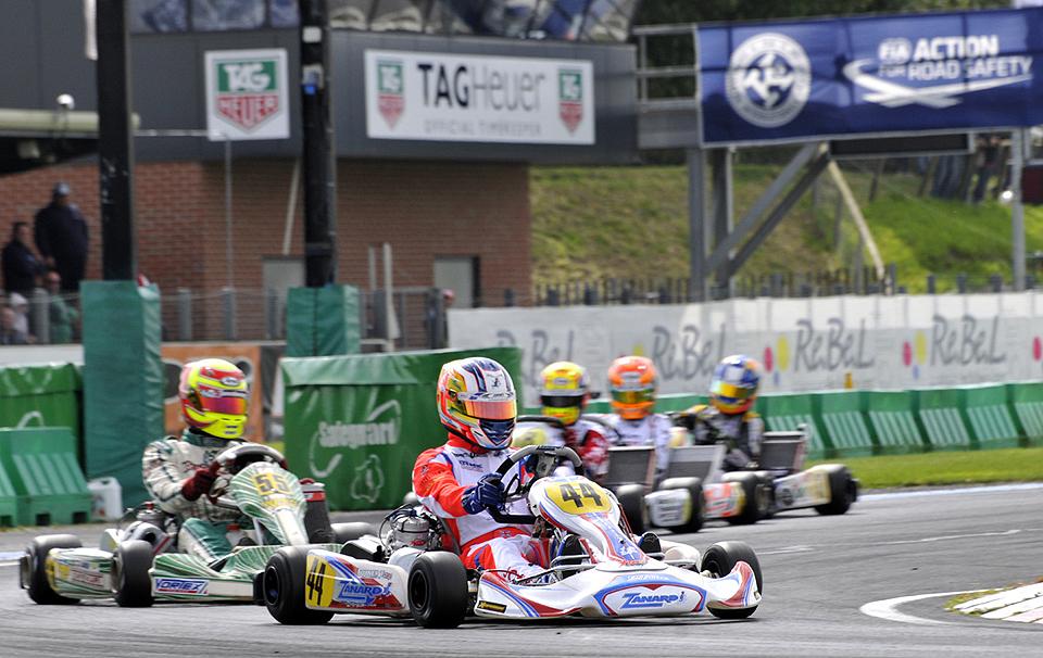 Weltmeistertitel für Zanardi-Kart