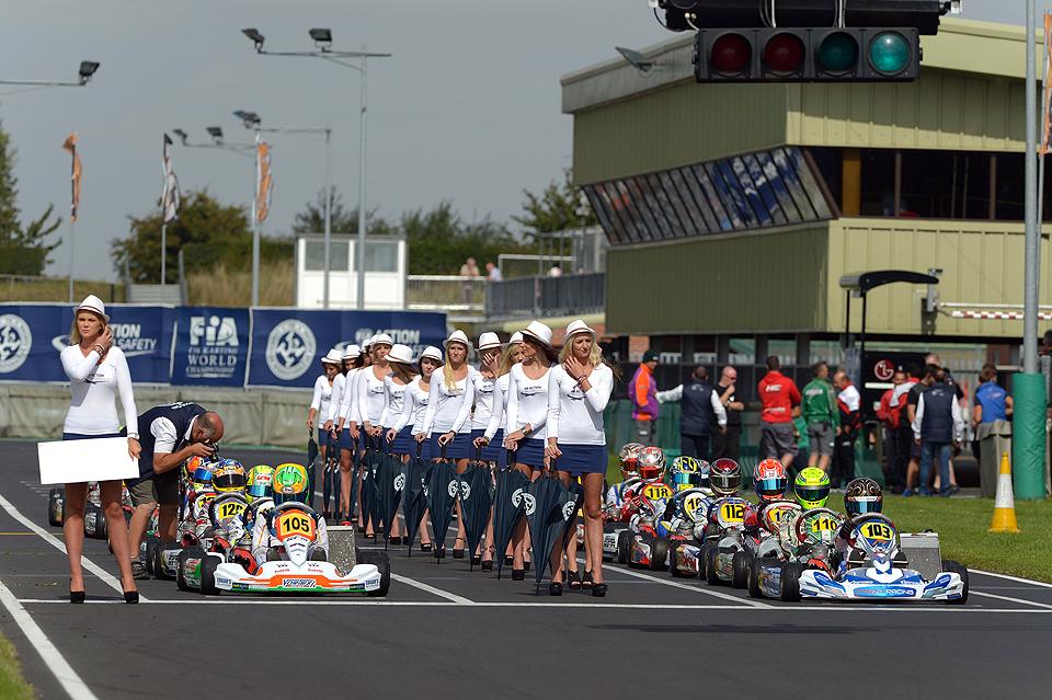 Neue Ausrüster in der CIK-FIA
