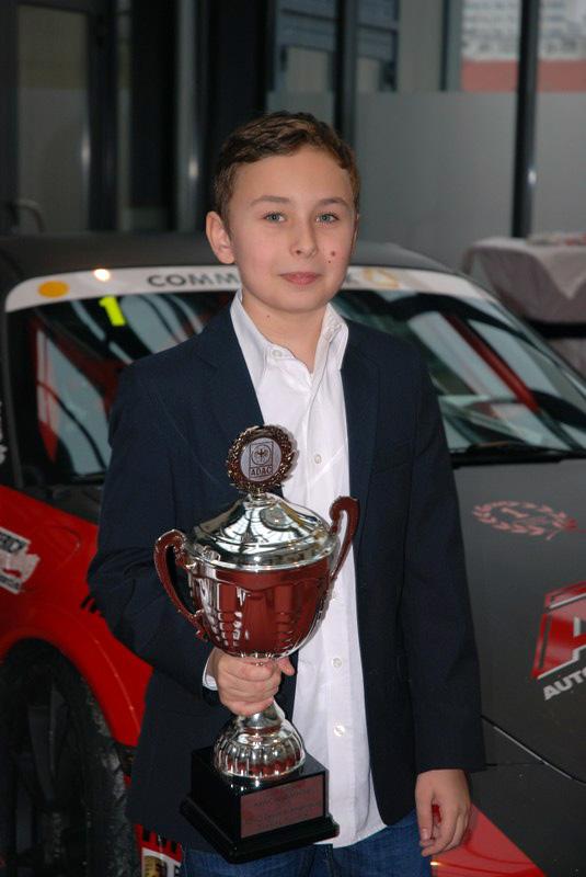 Niklas Bienek wird Kart-Cup Sieger 2013 des ADAC Berlin Brandenburg