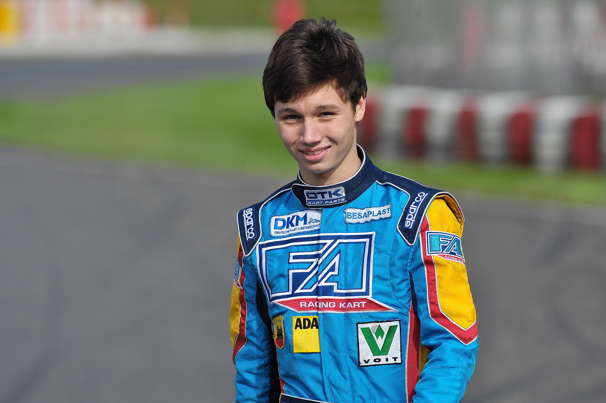 Cedric Piro steigt in Formel Renault 1.6 NEC auf