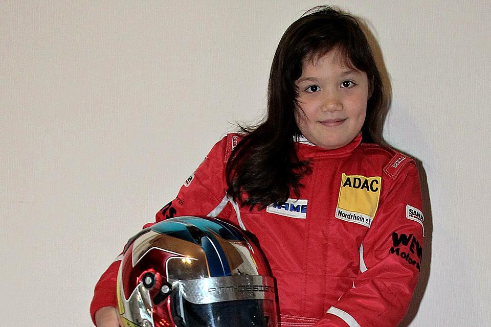 Moesha Weber startet für Solgat – Motorsport