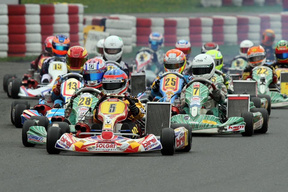 Ghattas und Hesse starten für ADAC Kart Junior Team