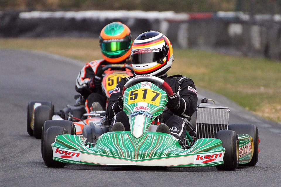 Starker ROTAX-Einstand des KSM Racing Teams
