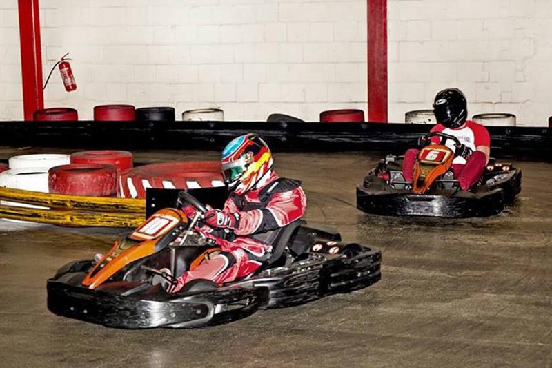 Auftakt der Indoor-Meisterschaft Formel 10