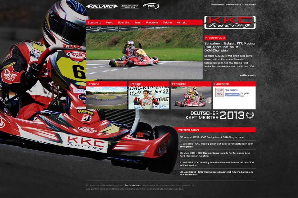 KKC Racing mit neuer Internetseite