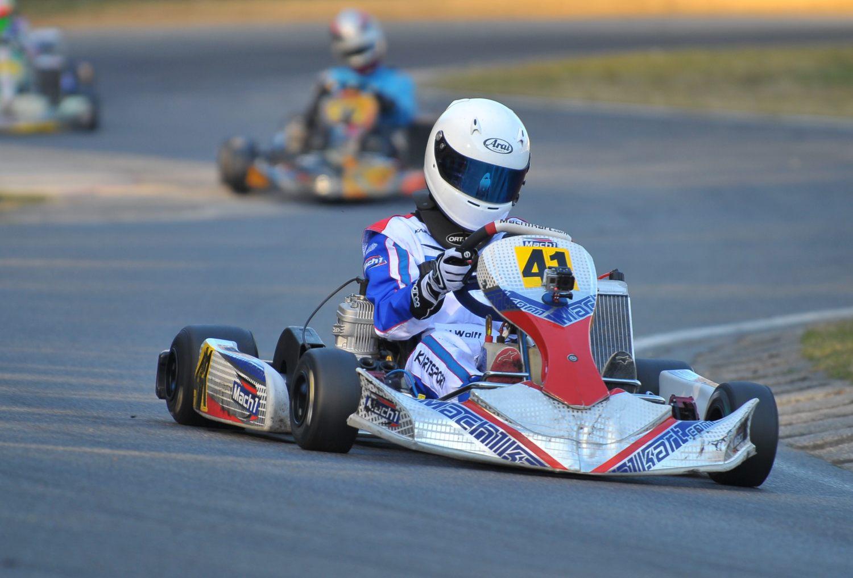 DS-Kartsport mit acht Piloten aktiv im Winterpokal in Kerpen