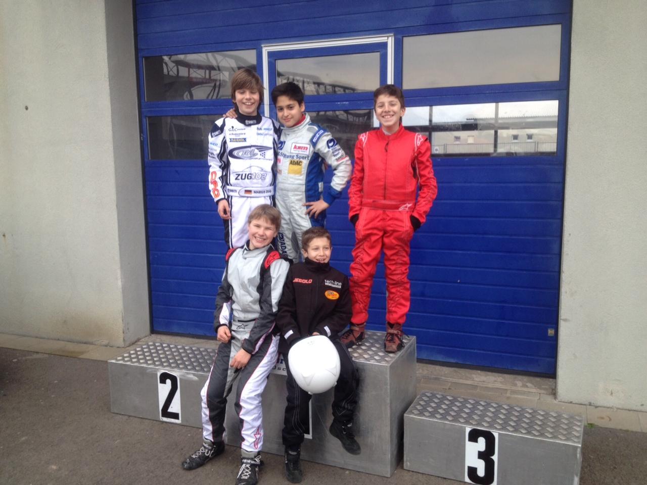 Winterpokal Oschersleben: Pole Position für Marius Zug