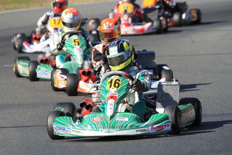 Tagessieg, Podium und Vizetitel für KSM Racing Team