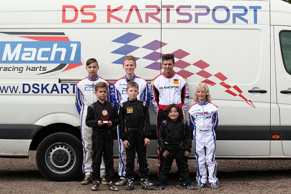 DS-Kartsport mit acht Piloten erfolgreich in Kerpen