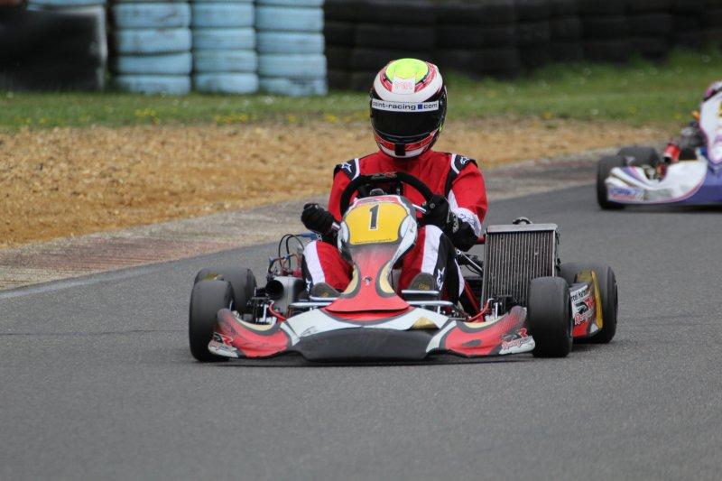 Marcel Hartmann mit Top-Performance bei der Kart-Challenge