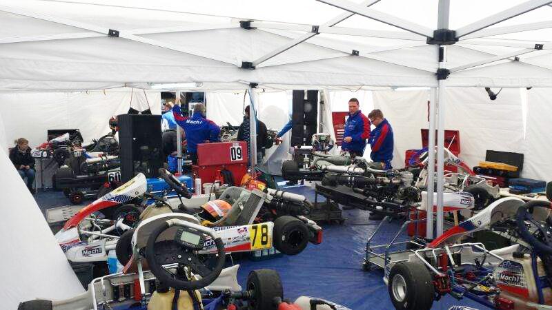 DS Kartsport bei der Vega Trophy in Hahn