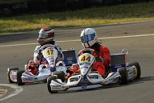 MSR-Motorsport/WST-Power mit Pole-Position in der KF Junior