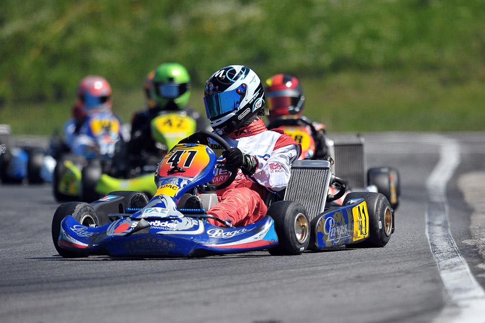 Mit Kampfgeist startet Luis Glania in die ADAC Kart Masters Saison