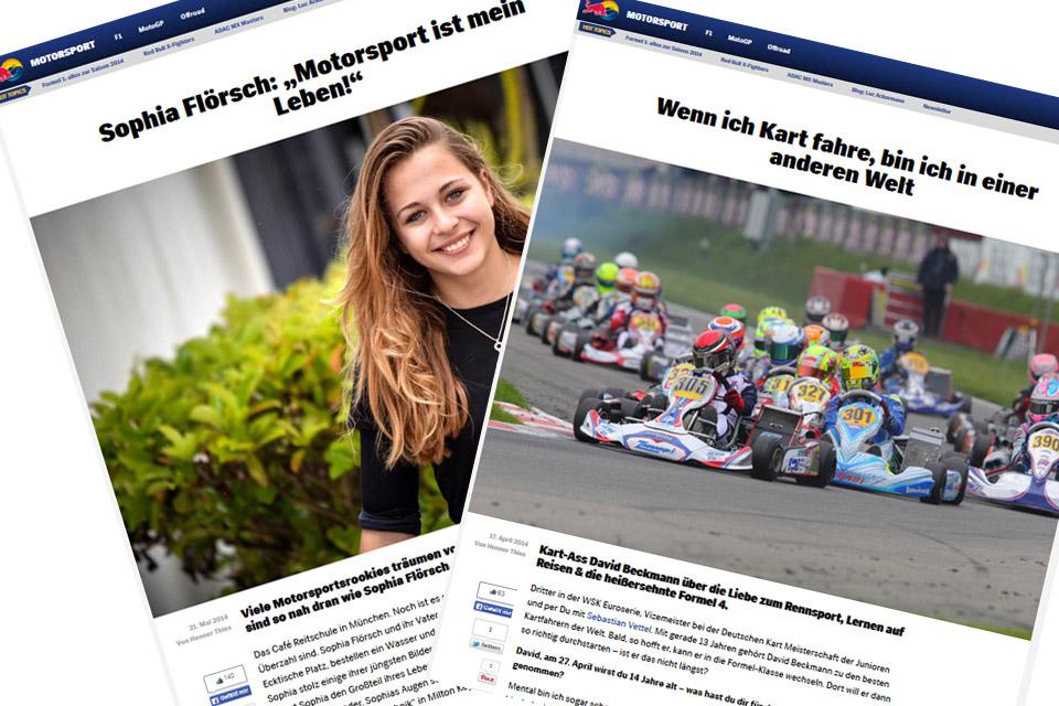 Zwei deutsche Junioren im Red-Bull-Interview