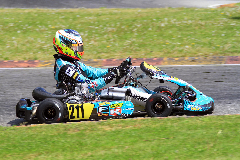Kalf Motorsport mit Formula K und Bas Lammers auf dem Podium