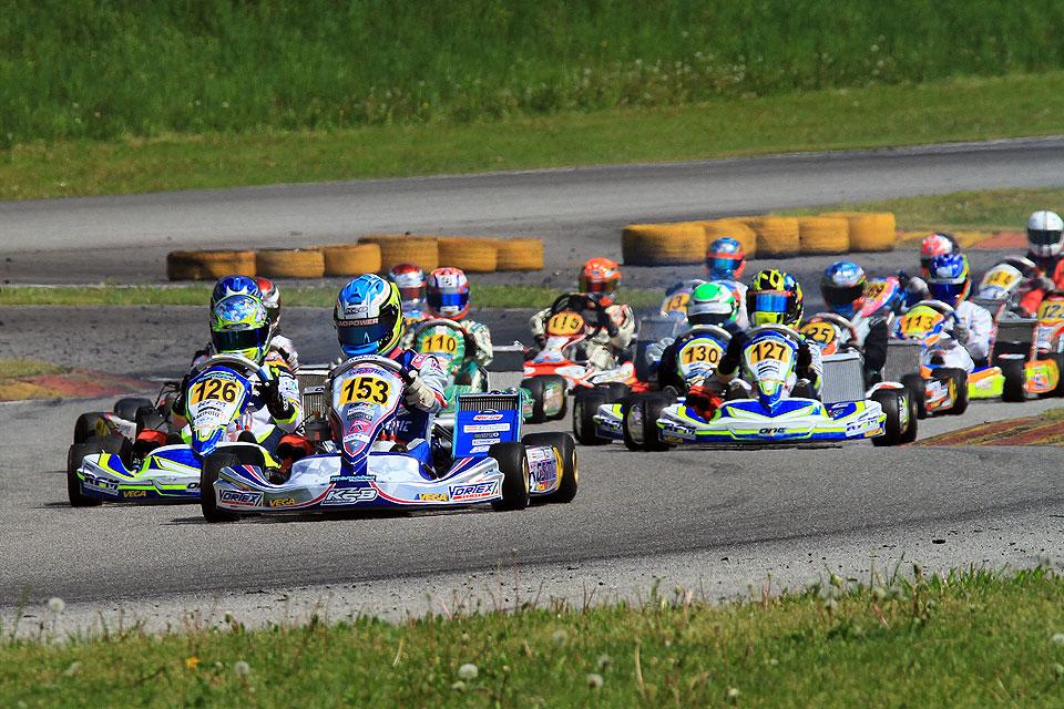 Starker Auftakt der Deutschen Kart Meisterschaft in Ampfing