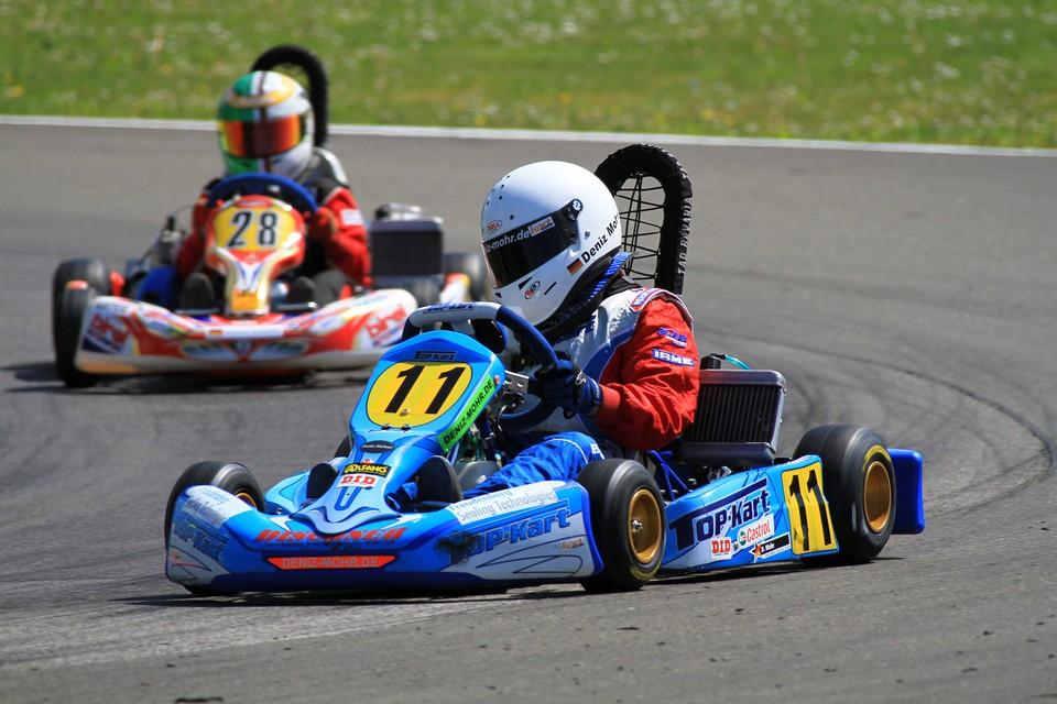 Deniz Mohr beschert Dischner Racing Rang drei