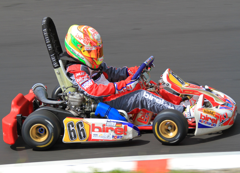 Erfolgreiches Testrennen für Noel Wilke