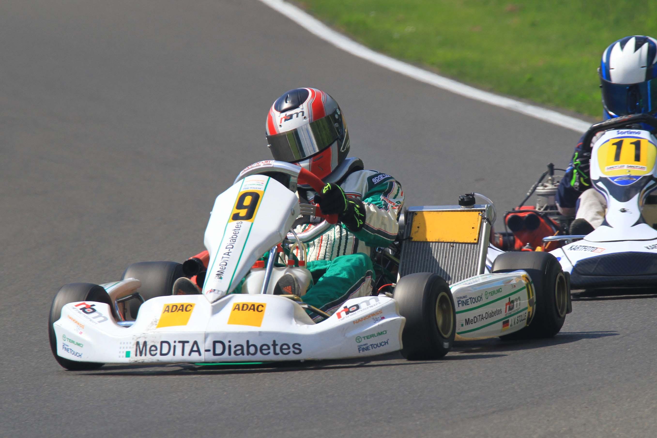 RBM Racing Team: Jan-Vincent Stolle setzt Lernphase fort