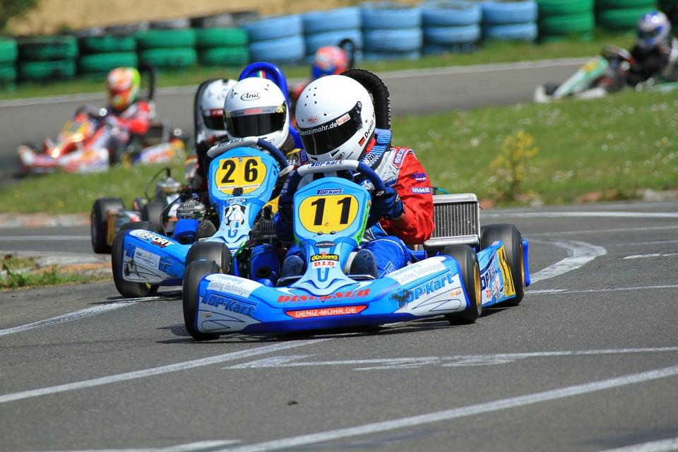 Deniz Mohr: Top-Drei-Ergebnis beim ADAC Kart Masters in Hahn