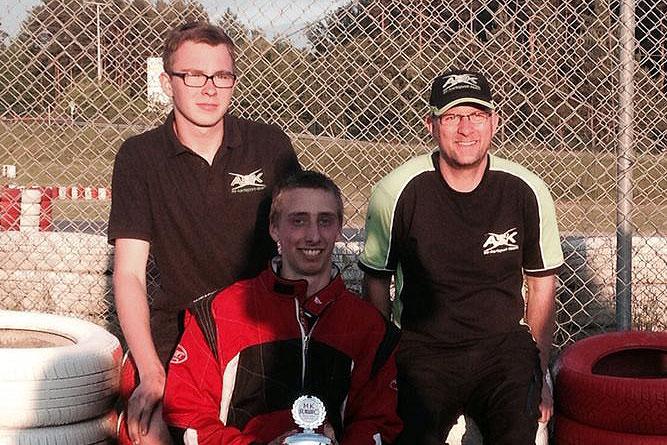 As-Kartsport erfolgreich in Wackersdorf