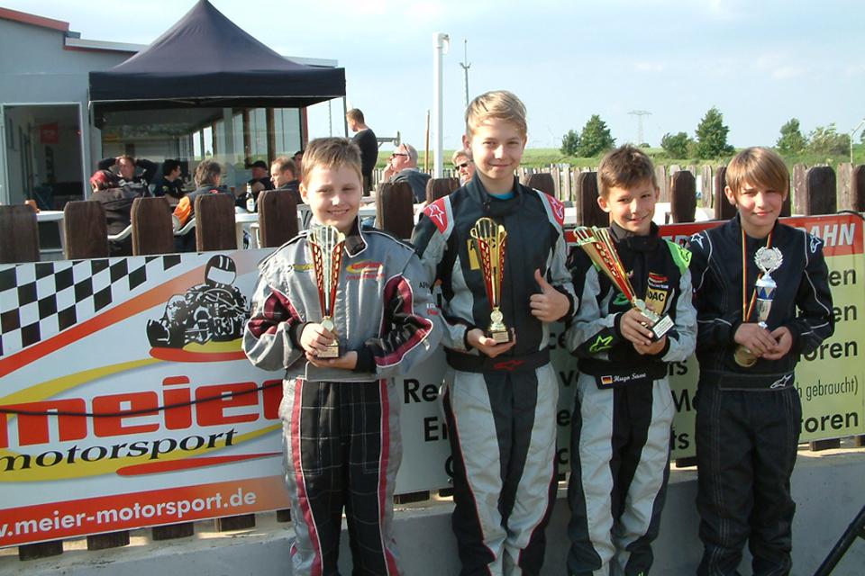 Starker Auftritt der Meier-Motorsport Fahrer beim OAKC/NAKC in Belleben