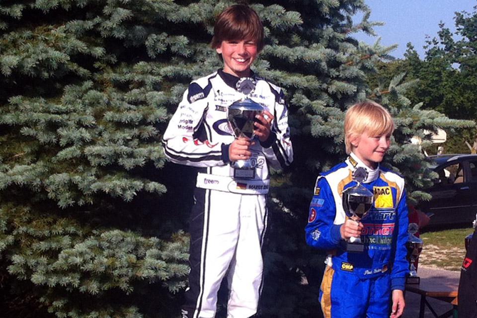 Pole Position und Doppelsieg für Marius Zug