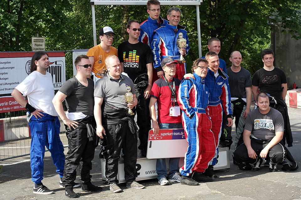 Superkart-Team.de: Hitzeschlacht im härtesten Stadtrennen