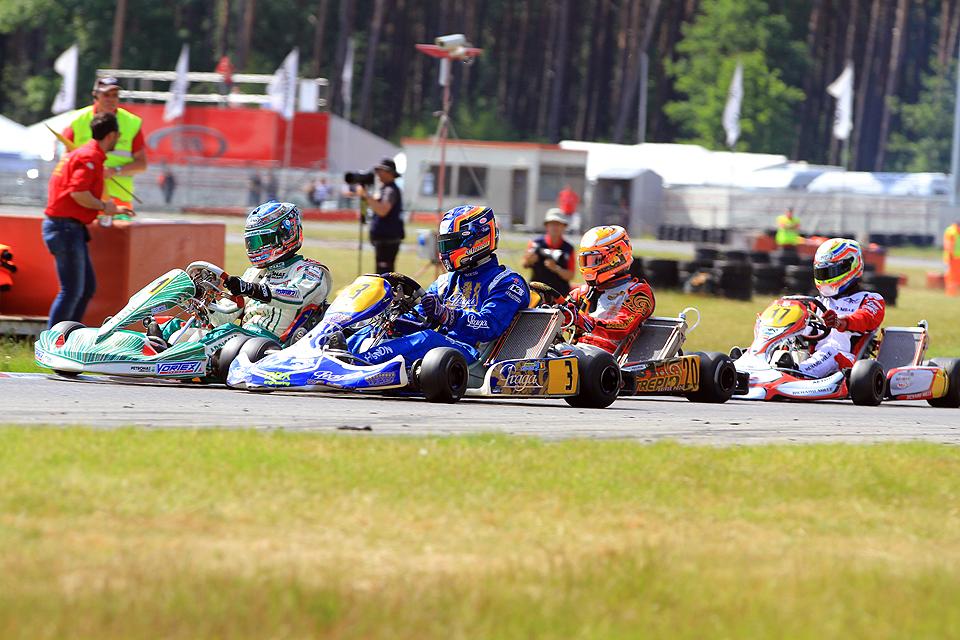 Spannende Finalrennen in Genk