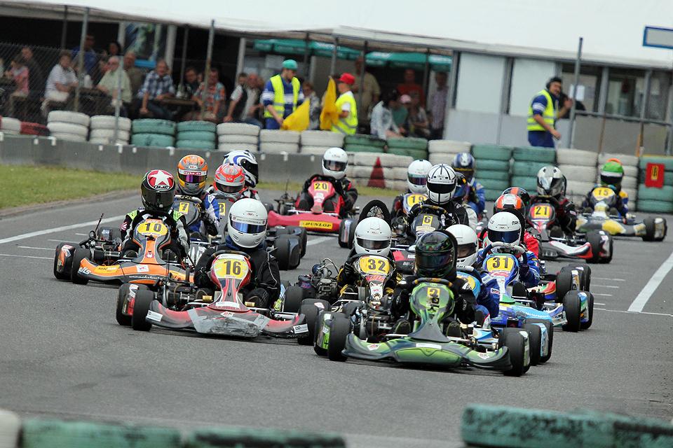 Halbzeit im Westdeutschen ADAC Kart Cup