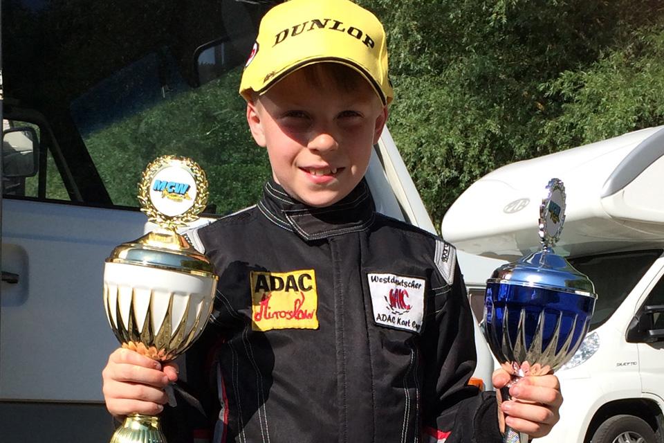 ADAC Kart Masters-Erfolg für DS Kartsport
