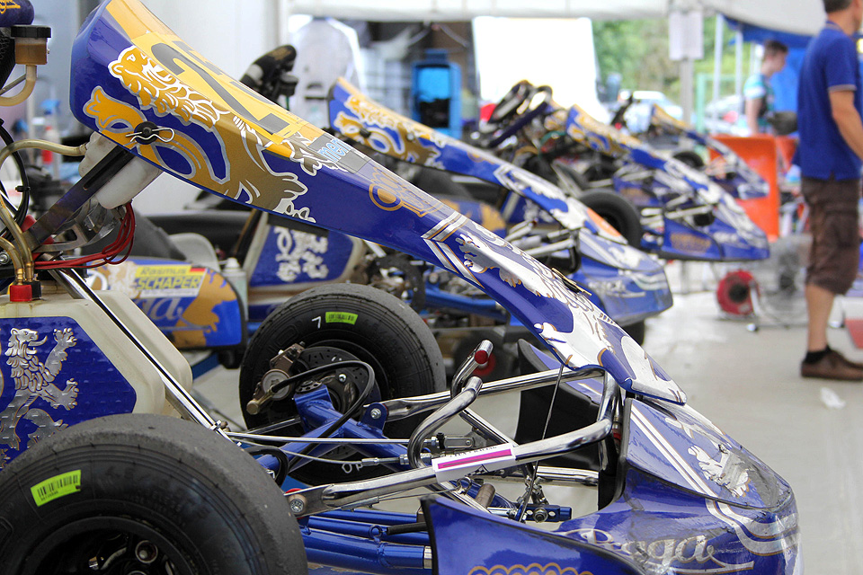 M-Tec Praga Racing in Ampfing vom Pech verfolgt