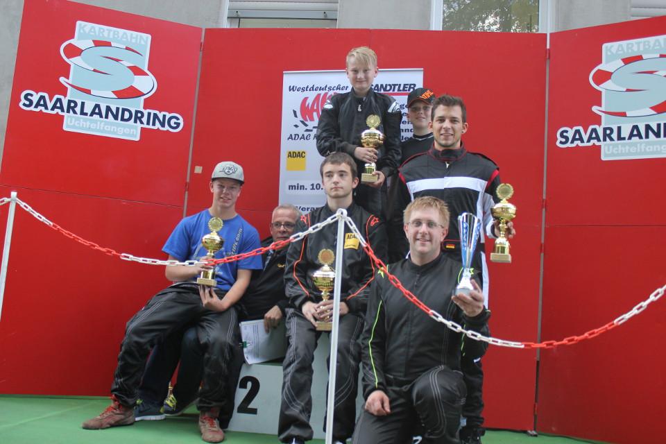 Galavorstellung des Beule-Kart Racing Teams in Uchtelfangen