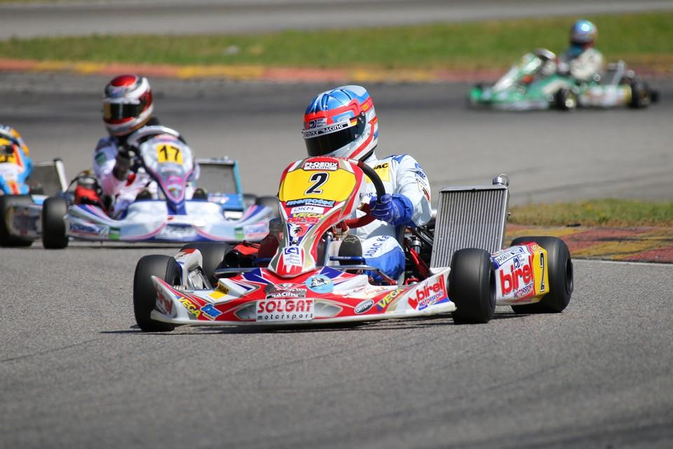 Solgat Motorsport: Erneutes Podium im ADAC Kart Masters