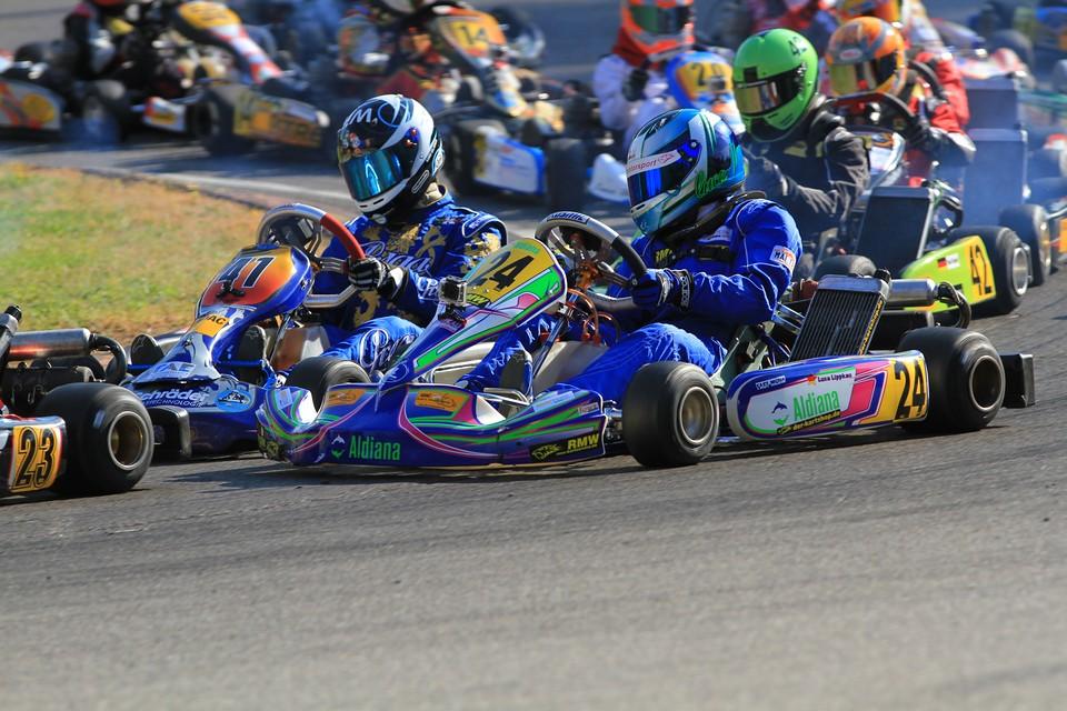 Luca Lippkau hält Titelchancen im ADAC Kart Masters