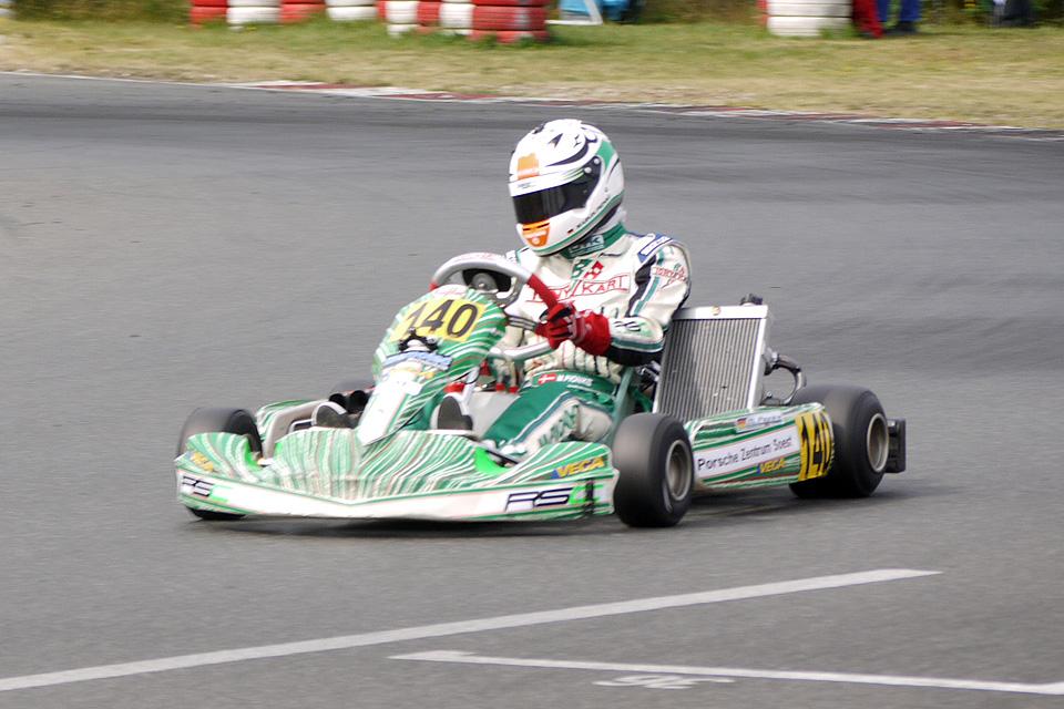 Marvin Pionke erreicht Platz sieben in Wackersdorf