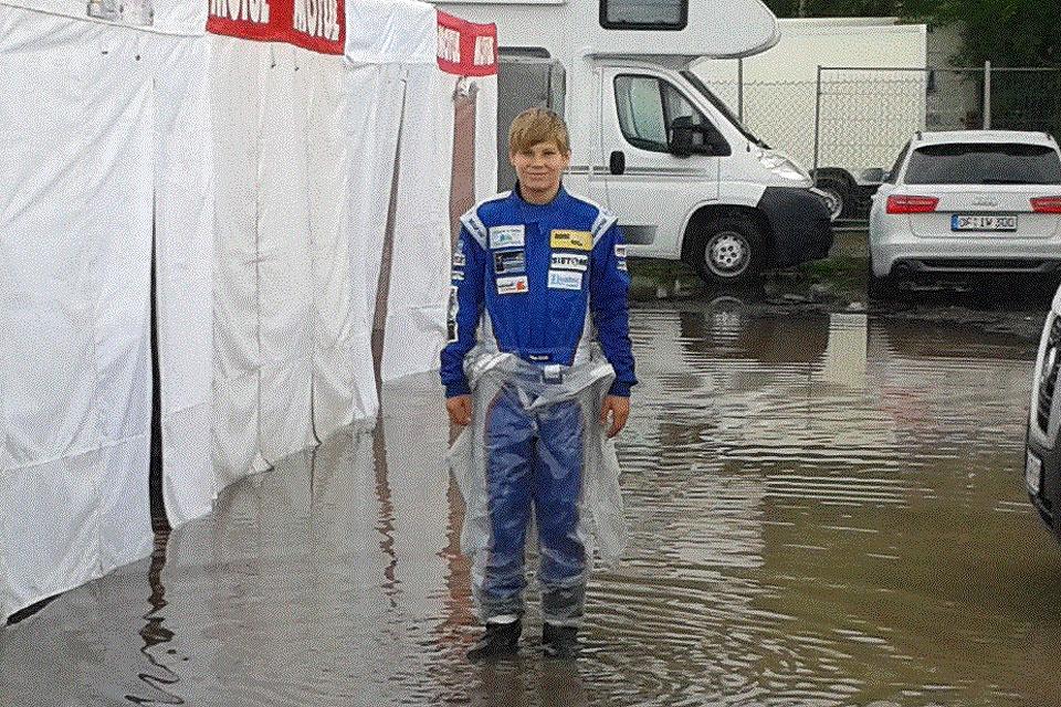 Niklas Koch erreicht Platz sieben in Hahn
