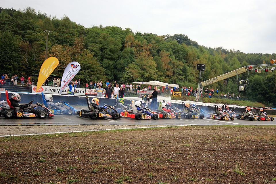 Saison-Halbzeit im ADAC Kart Masters