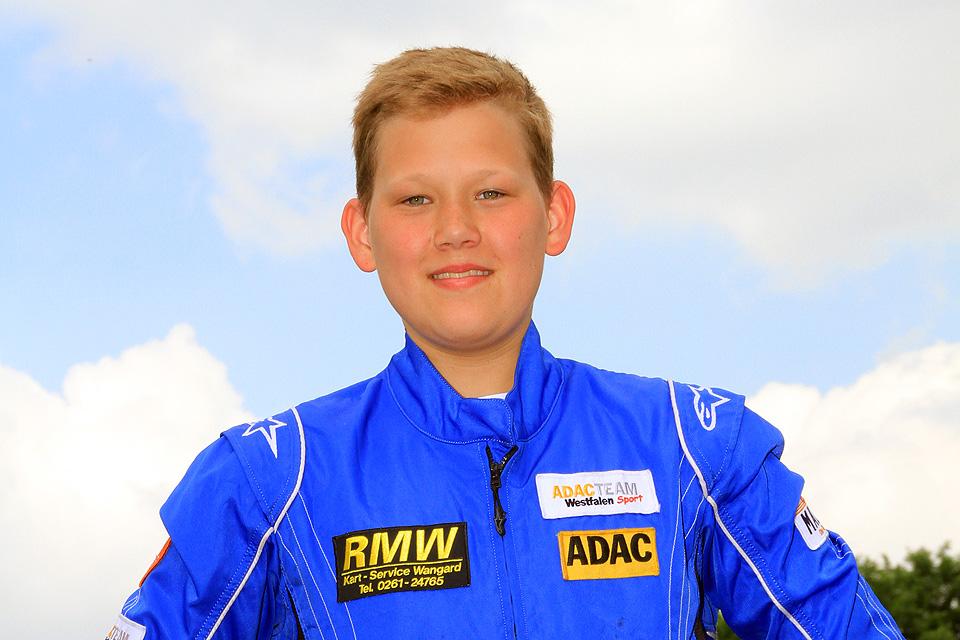 Luca Lippkau möchte in Kerpen gewinnen