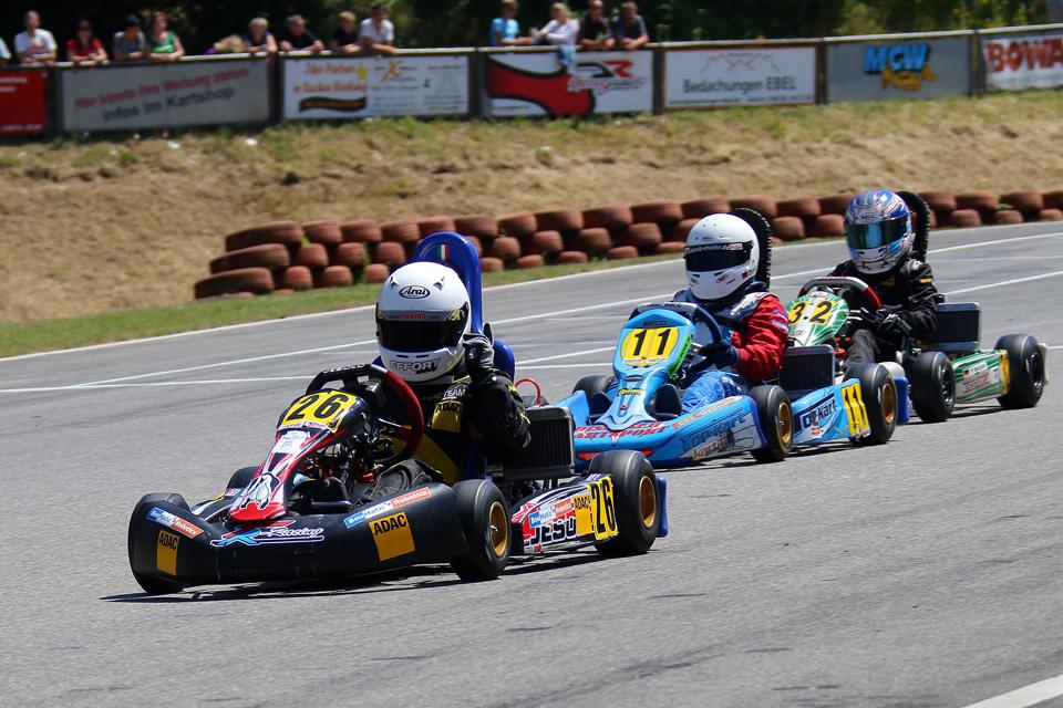 ADAC Nordrhein-Junioren führen Kart Masters an