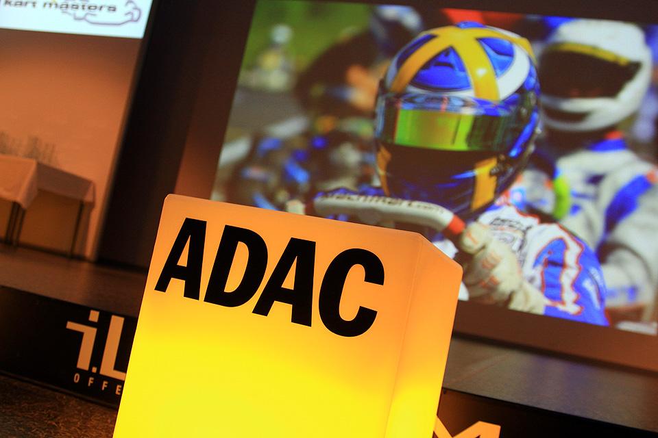 ADAC Kart Masters Siegerehrung in Offenbach