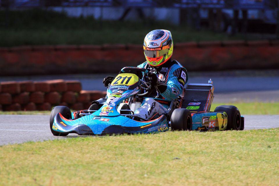 Formula-K und Bas Lammers in den Top-Drei