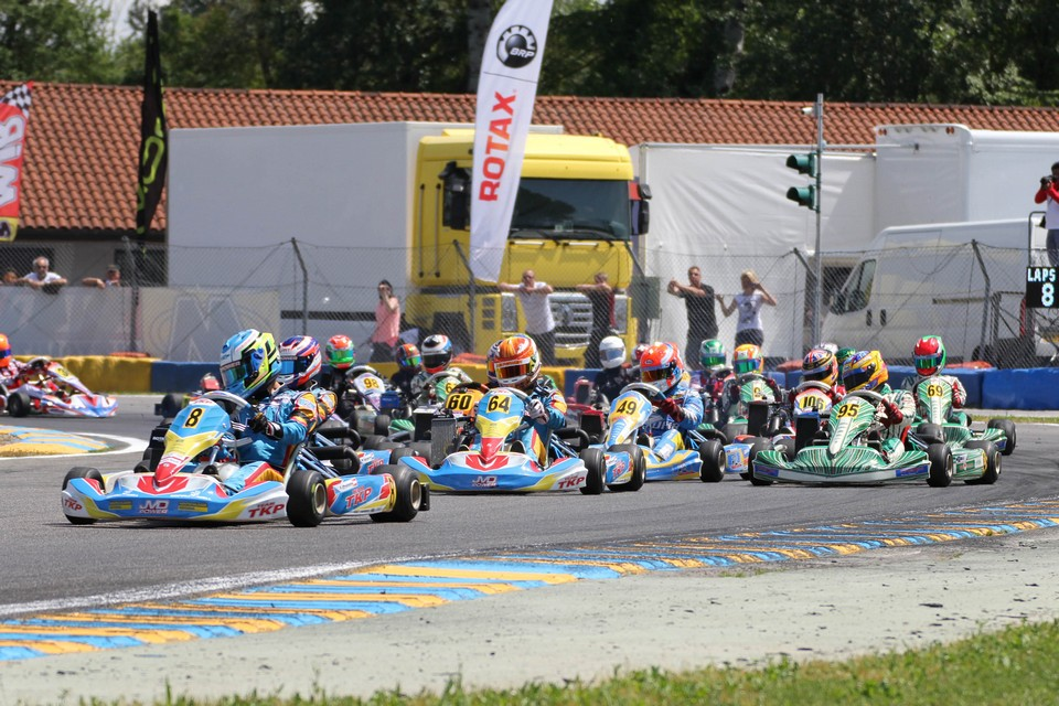 Rotax Max Euro Challenge steht vor einer heißen Halbzeit