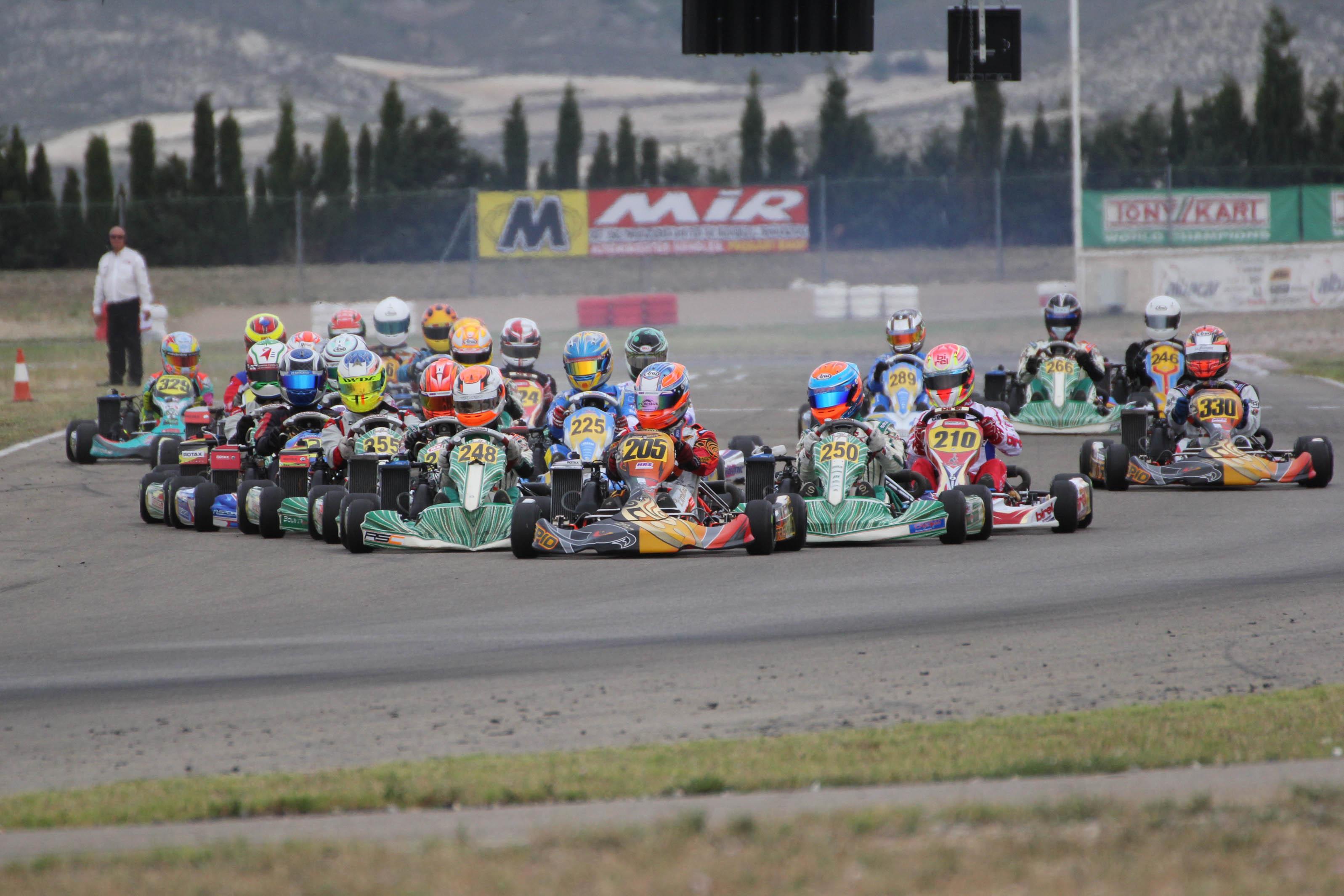 Rotax Max Euro Challenge bleibt weiter spannend