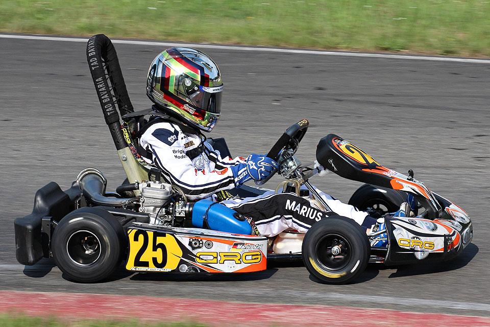 Marius Zug fährt in Kerpen zweimal in die Top10