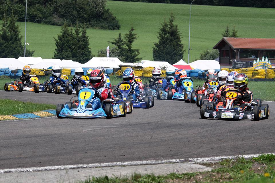 Viertes Rennen der LO SKM/CSK in Levier