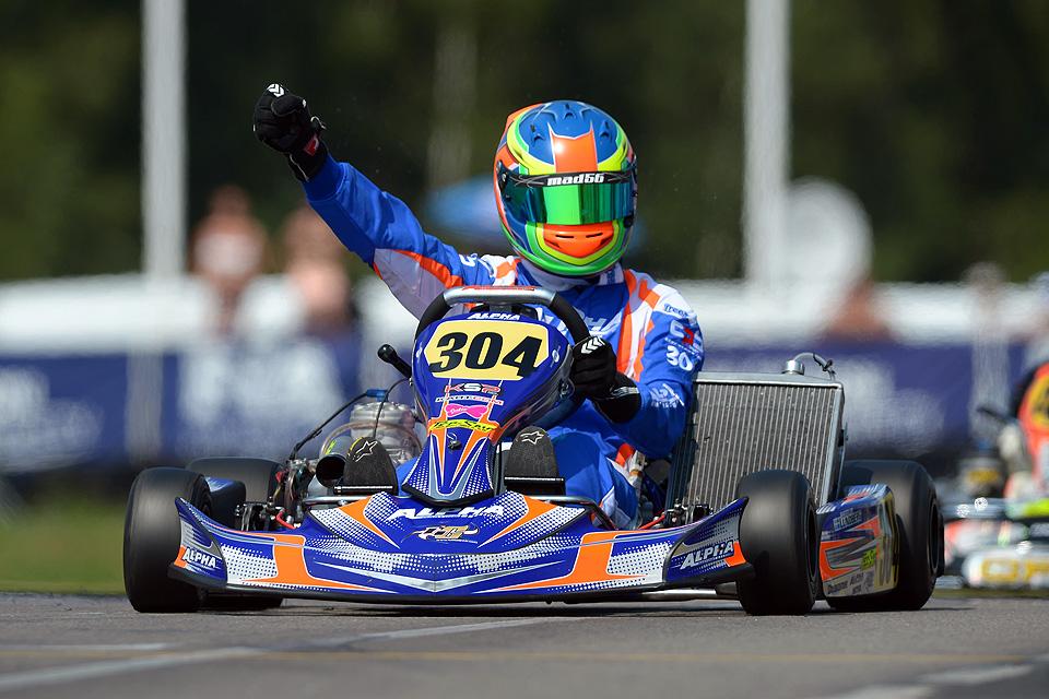 Sensationeller Erfolg für Alpha Kart und Lundberg in Schweden