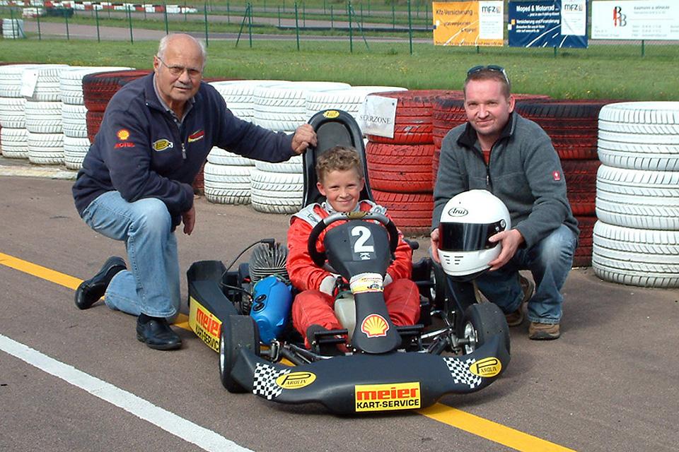 Nachwuchssichtung bei Meier-Motorsport